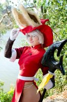 NCF13 - Red Mage Viera by BlizzardTerrak