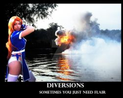 Diversions to motivate by FandomFoodie