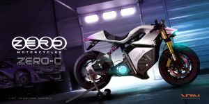 Zero Motorcycles ZERO-C Electric Cafe Racer by jmvdesign