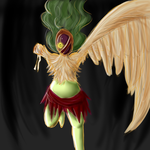 One-winged Harpy (AUCTION) by pyrrula