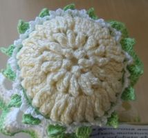 chrysanthemum jar cover 2 by Craftcove