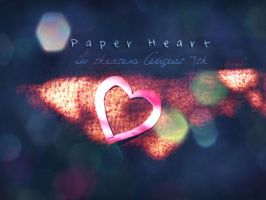 Paper Heart by kazelisa