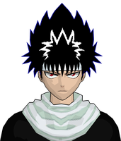 HIEI UPDATE ON THE EYES by GAME-ART-EDITED-ART
