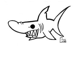 Bruce,the shark from Jaws by Clayman8