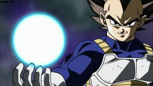 Saiyan Prince Vegeta by simigot