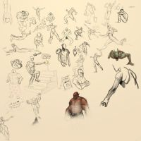 J and Neil OC Session Gestures by Pinflux