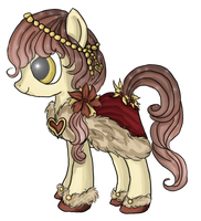 Pony Point Adopt: Hearth's Warming Eve Pony by Blesses