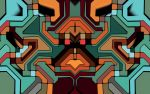 Abstract mosaic 4 by e-designer