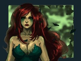 poison ivy by ScarletGrass