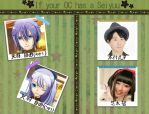 CLAC: If your OCs have a seiyuu by OoshiroSaohime