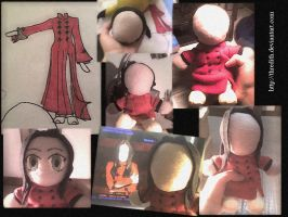 Tarja's Plushie - The Process by thredith