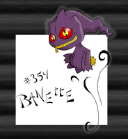 Banette by SarahRuthless