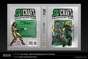 Spycraft 2.0 Cover Design by natebarnes