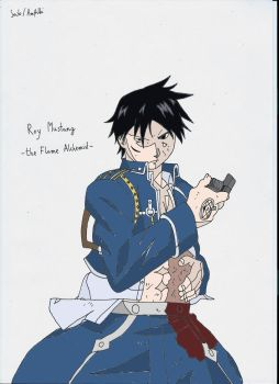 Roy Mustang by Amfilbi