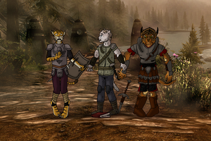 Triple-Khajiit-TF - 4/5 by oldiblogg