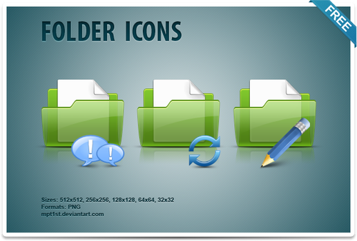 Folder Icons by mpt1st
