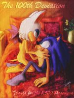 Rouge and Sonic 2 by SidusPrime
