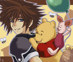 KH2 - ++Sweet Memories++ by gemiange