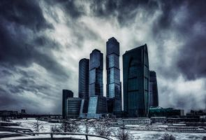 Moscow City by Tori-Tolkacheva