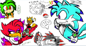 iScribble Mess by KaiThePhaux