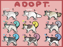 Adoptables 3 by motted