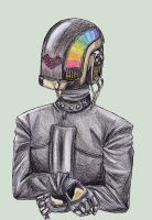 :Daft Punk: Guy-ManueLisa by Pancake-fairy