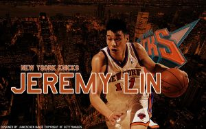 Jeremy Lin Wallpaper C by JamesChen