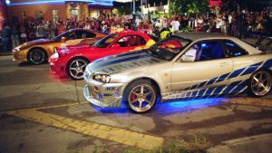 Brian's Nissan Skyline From 2Fast2Furious by FF-Kid