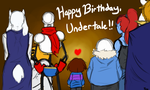 Happy Birthday, Undertale!! by ExorcistNixxy