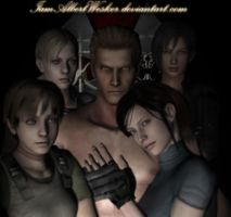 Wesker's lovely ladies by IamAlbertWesker
