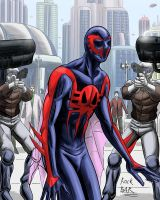 Spider Man 2099 again by rocksilesbarcellos