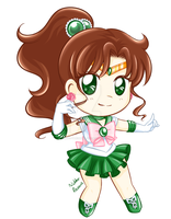 SailorJupiterChibi by NikkoTakishima