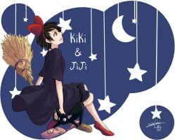 Kiki's Delivery Service by LeZombieCookie