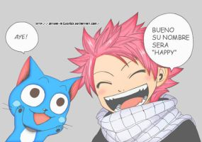 Happy and Natsu by Perfectionxanime