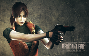 Claire Redfield RE DC wallpaper by VickyxRedfield