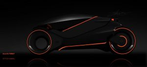Tron Light cycle contest by SideQuesting by Rotr8
