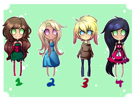 Adopts Batch 1 by Onna-Chama