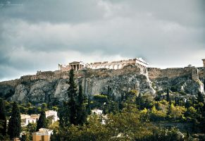 Acropolis by mariannaphotography
