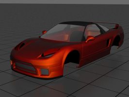 NSX Roof Added by prox3h