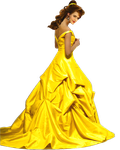 Emma Watson as Belle PNG by nickelbackloverxoxox