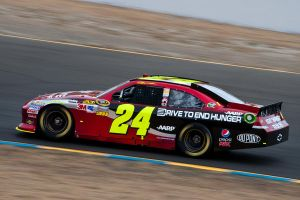 Jeff Gordon at Sonoma by SharkHarrington