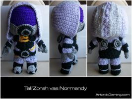 Tali'Zorah vas Normandy by GamerKirei