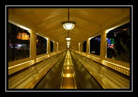 Las Vegas Walkway by martinshiver