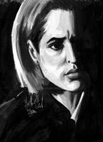 Dana Scully by ratgirl84