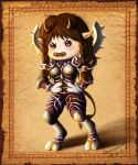 angry tauren warrior girl by cocoasweety