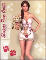 Sleepzzz Purr Outfit and Accessories by emmaalvarez
