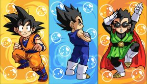 DBZ: Sticker Set 1 by Risachantag