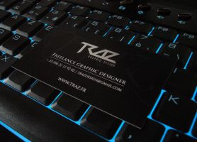 TRAZ - Business card by Trazdesign