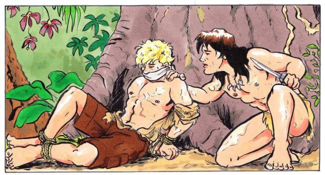 Jungle Boy Coloured by Tacitus3