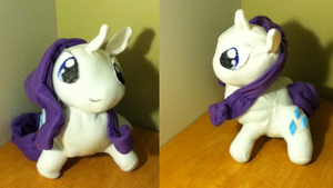 Rarity Plush by CardcaptorKatara